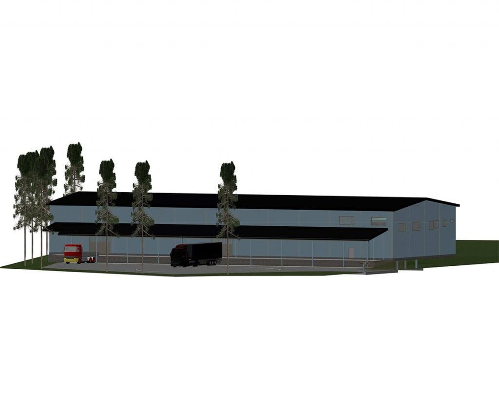 VARASTOTILA, VUORENTAUSTA, <nobr>160-400 m2 m²</nobr>, <nobr>1/1 krs.</nobr>