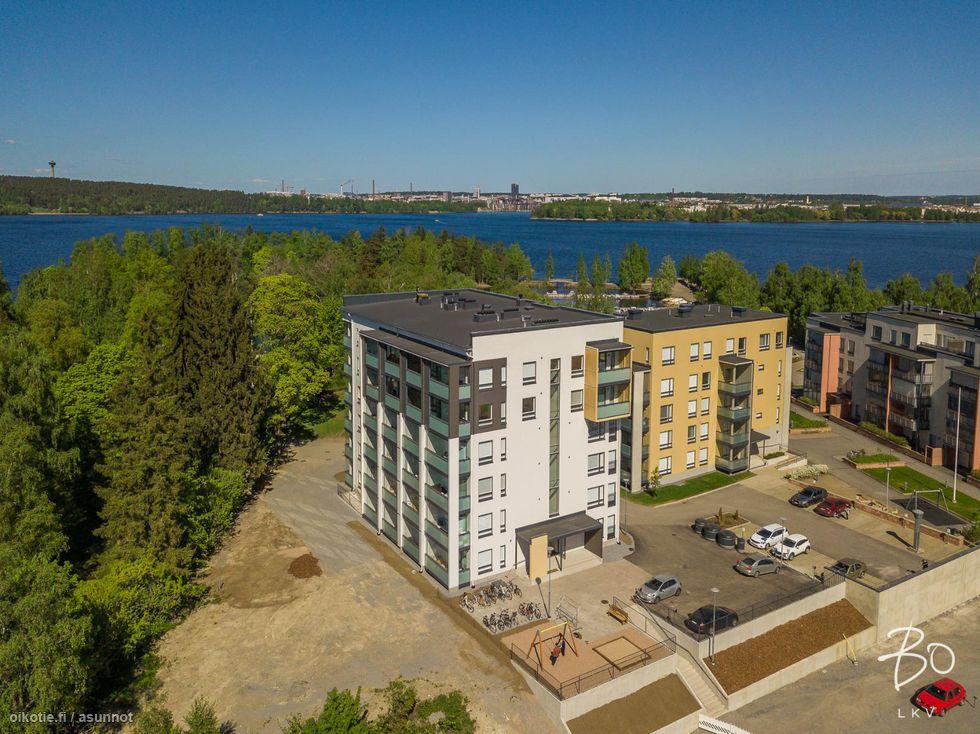 Tampereen Härmälänrannan Ossian A 31<br><nobr>2H + K</nobr>, <nobr>46,5 m²</nobr>, <nobr>4 / 6 krs.</nobr>