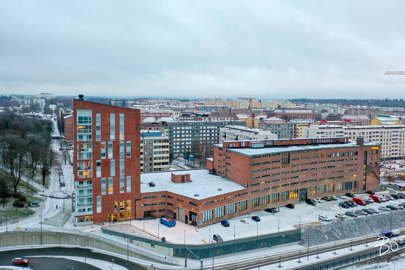 Tampereen PMK-Torni as 31<br><nobr>1H+ALK+KT</nobr>, <nobr>28.5 m²</nobr>, <nobr>6. krs.</nobr>